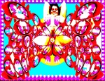 """MISS WYLD, by Paedra Bramhall, 2009, digital image on archival canvas printed with 100% pigment, 66"""" x 106"""""""